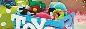 Ящики, корзины для игрушек