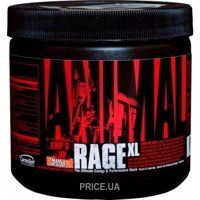 Фото Universal Nutrition Animal Rage XL 150 g