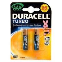 Фото Duracell AAA bat Alkaline 2шт Turbo 81417112