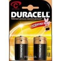 Фото Duracell C bat Alkaline 2шт Basic 81427263