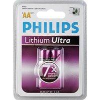 Фото Philips AA bat Lithium 2шт Lithium Ultra (FR6LB2A/10)