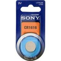 Фото Sony CR-1616 bat(3B) Lithium 1шт (CR1616BEA)
