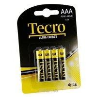 Фото Tecro AAA bat Carbon-Zinc 4шт Extra Energy (R03P-4B(UE))