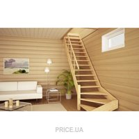 Фото Изготовление деревянных лестниц