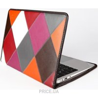 "Фото GGMM 11""W Чехол-папка для MacBook Air 11"" check genuine leather"