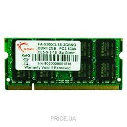 G.skill  FA-5300CL5S-2GBSQ