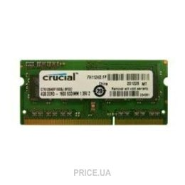 Crucial 4GB SO-DIMM DDR3L 1600MHz (CT51264BF160BJ)
