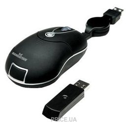 Manhattan Wireless Mobile Mini Mouse MMX (176811)