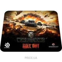 Фото Коврик для мыши SteelSeries QcK World of Tanks Tiger Edition (67272)