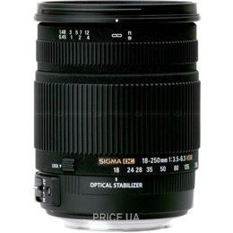 Sigma 18-250mm f/3.5-6.3 DC OS HSM Canon EF-S
