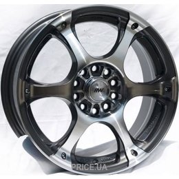 Racing Wheels H-245 (R17 W7.0 PCD5x112 ET40 DIA73.1)