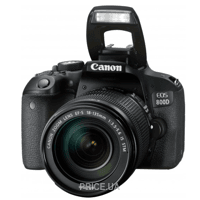 Сравнить цены на Canon EOS 800D Kit