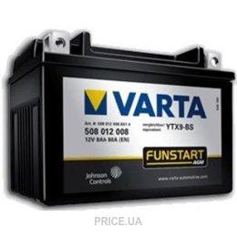 Varta 6CT-8 FUNSTART AGM (YTX9-4, YTX9-BS)