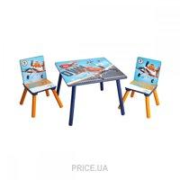 Фото Delta Children Набор детской мебели Самолеты (TT89453PL)