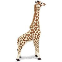 Фото Melissa&Doug Огромный плюшевый жираф 1,40 м (MD2106)