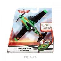 Фото Mattel Инерционный герой с трюком из м/ф Самолеты (DHN42)
