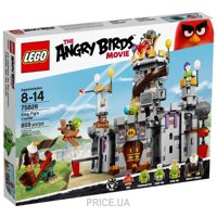 Фото LEGO Angry Birds 75826 Замок короля свинок