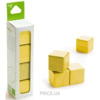 Фото Tegu Набор из 4 кубиков (желтый) G-12-007
