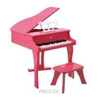 Фото Hape Фортепиано со стульчиком розовое (E0319)