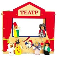 Фото Мир деревянных игрушек Кукольный театр (Д170)