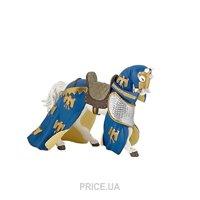 Фото PAPO Лошадь с синей попоной (39391)