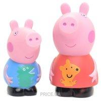 Фото Peppa Pig Набор игрушек-брызгунчиков Пеппа и Джордж (27132)