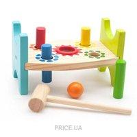 Фото Мир деревянных игрушек Стучалка Шарики и гвозди (Д369)