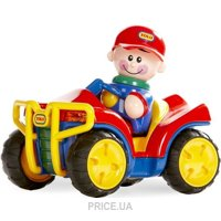 Фото Tolo Toys Квадроцикл Первых Друзей (87391)