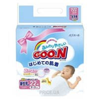 Фото Goo.N Newborn XS 0-5 кг (22 шт.)