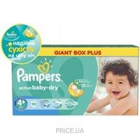 Фото Pampers Active Baby Maxi Plus 4+ (96 шт.)