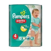 Фото Pampers Pants Maxi 4 (16 шт.)
