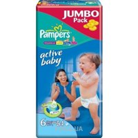 Фото Pampers Active Baby Extra Large 6 (54 шт.)