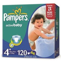 Фото Pampers Active Baby Maxi Plus 4+ (120 шт.)