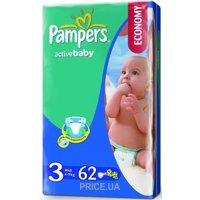 Фото Pampers Active Baby Midi 3 (62 шт.)