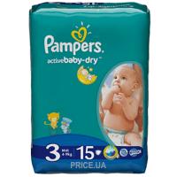 Фото Pampers Active Baby Midi 3 (15 шт.)