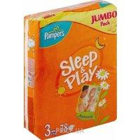 Фото Pampers Sleep&Play Midi 3 (78 шт.)