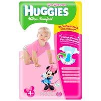 Фото Huggies Ultra Comfort для девочек 4+ (68 шт.)
