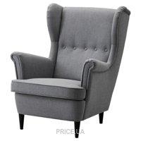 Фото IKEA STRANDMON Кресло с подголовником (703.004.20)