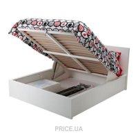 Фото IKEA MALM Кровать с подъемным механизмом 160x200 (502.498.71)