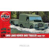 Фото Airfix Автомобиль LWB Land Rover с прицепом (AIR02324)