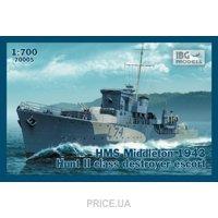 """Фото IBG Models Эскортный корабль """"HMS Middleton"""", 1943 (IBG70005)"""