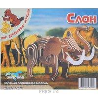 Фото Мир деревянных игрушек Слон (М029с)