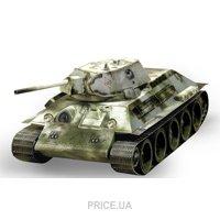 Фото Умная бумага Танк Т-34 обр. 1941 г. (белый) (199-01)