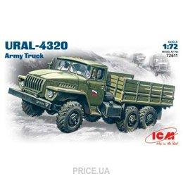 Фото ICM Урал 4320, армейский грузовой автомобиль (72611)