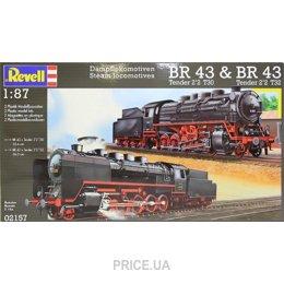 Фото Revell Тепловоз BR 43 Steam Locomotives BR 43 (RV02157)