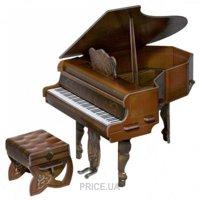 Фото Умная бумага Коллекционный набор сборной мебели. Рояль, коричневый (261-01)