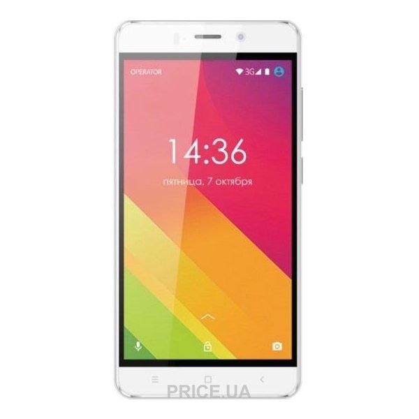 смартфон ginzzu s5120 белый видео обзор