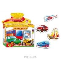 Фото Vladi Toys Транспорт на магнитах (VT3101-06)