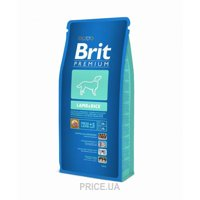 Фото Brit Premium Lamb and Rice 3 кг