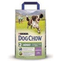 Фото Dog Chow Adult для взрослых собак со вкусом ягненка 2,5 кг